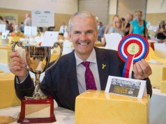 Yorkshire Cheddar crowned supreme champion at The Great Yorkshire Cheese and Dairy Show