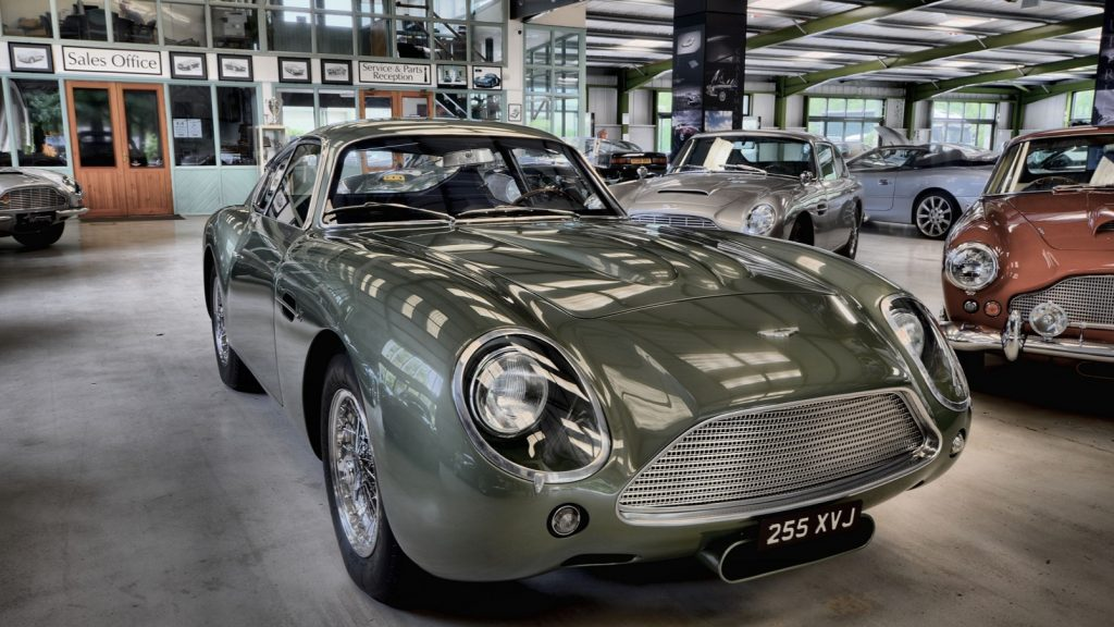 Recreated 1960s Supercar Worth 1 8m Rolls Out Of County Durham Workshop Business Up North