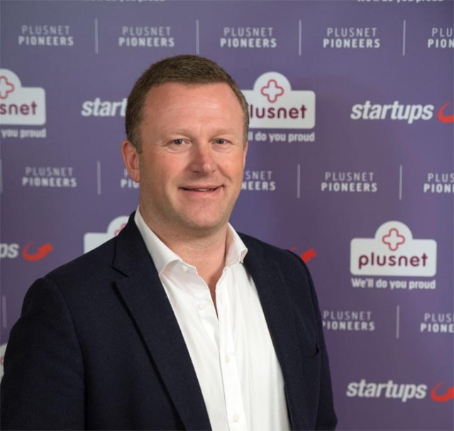 Andy Baker, CEO of Plusnet