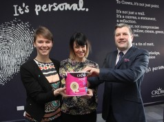 Liz Draper, Head of Corporate Partnerships, Hull City of Culture, Louise Babych, Development Manager, Hull City of Culture and Ellis Mudd, Crown Paints.