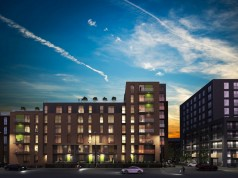 How the Middlewood Plaza, in Salford, would look when completed
