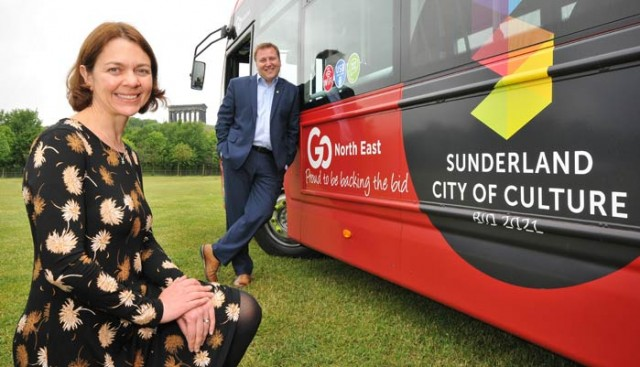 Go North East drives support for Sunderland's Culture Bid