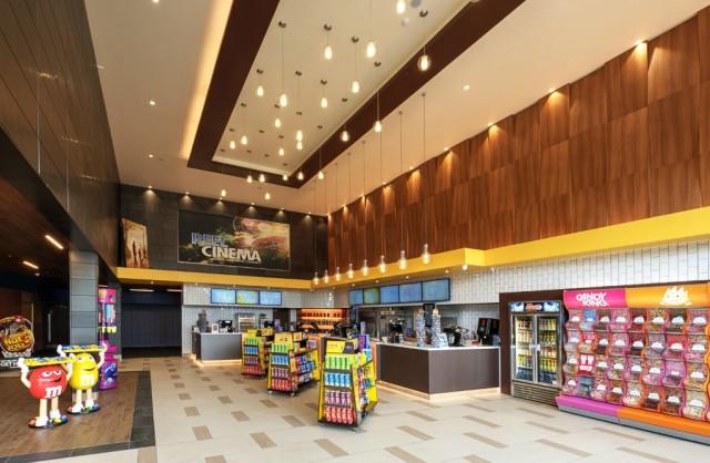 The refurbished Reel Cinema Burnley