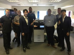 Samsung tech gurus join Yorkshire print company for a summer of upskilling