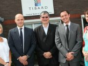 Pictured left to right are Tibard directors Anne Redfern, Ian Mitchell, John Shonfeld, Rick Shonfeld and Denise Shacklady
