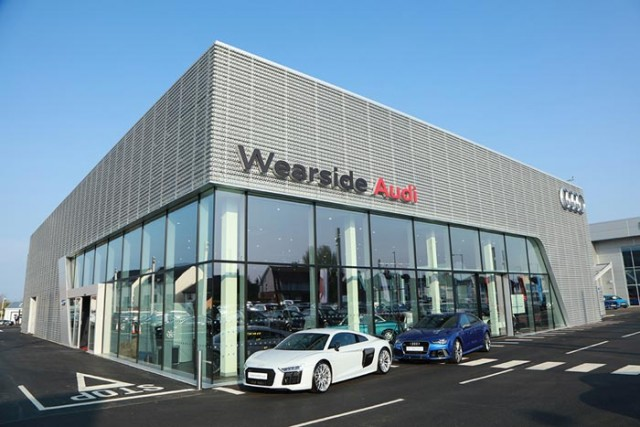 The new Wearside Audi facility on Newcastle Road, Sunderland