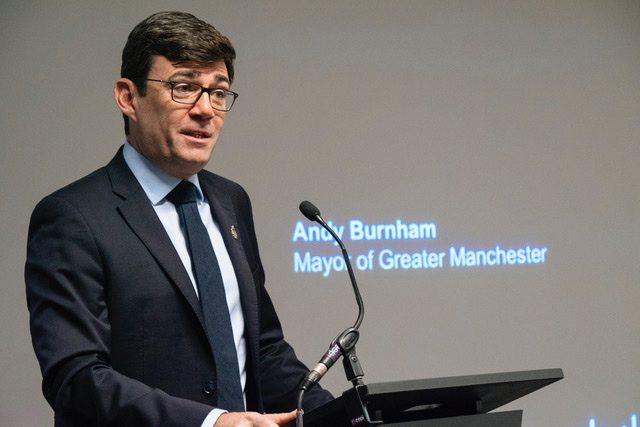Greater Manchester Mayor - Andy Burnham