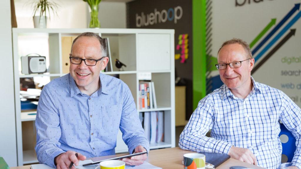 Bluehoop Digital Website Design