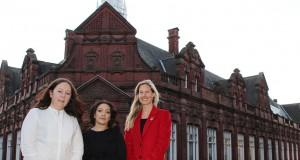 The Common x Collective team: Andrea Freeman, Shama Hussain and Charlotte Nichols