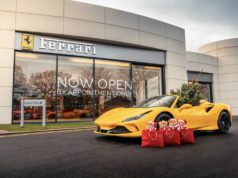Ferrari and JCT600 Brooklands deliver a bit of extra special Christmas magic to Candlelighters