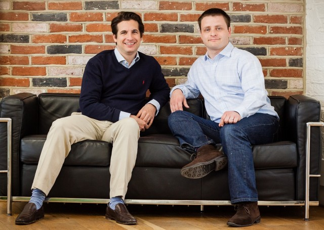iwoca co-founders Christoph Rieche, CEO and James Dear, CTO - iwoca, one of Europe's largest small business lenders, is pledging to lend £100 million to micro and small businesses in the North of England by 2020.