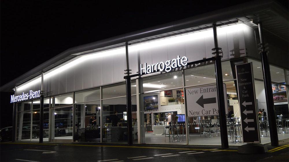 JCT600's redeveloped Mercedes-Benz showroom in Harrogate