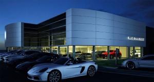 Expansion has begun on Porsche Centre Sheffield