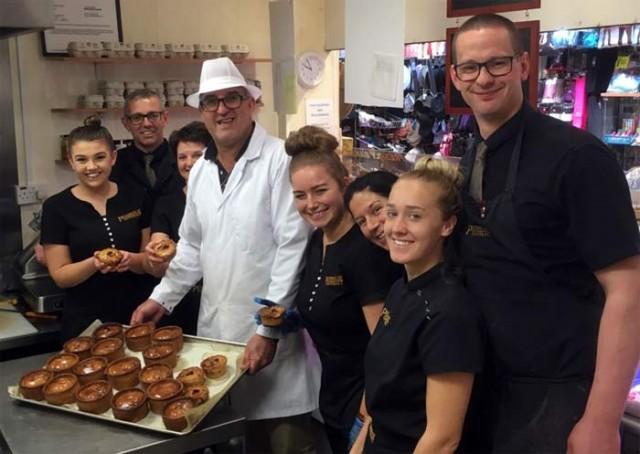Liquorice pork pie gets festival thumbs-up