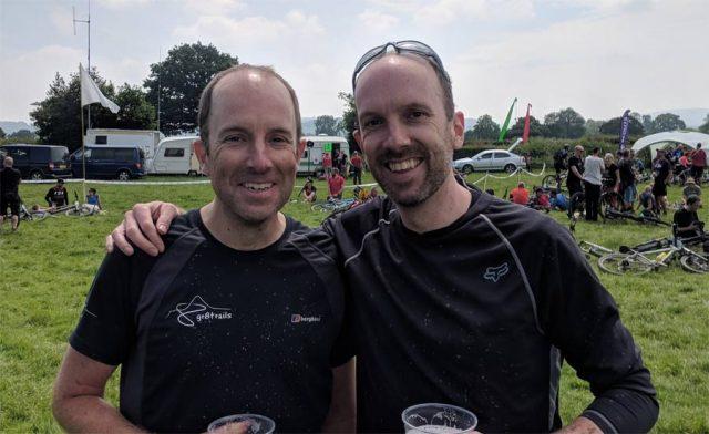 Adrian and Neil Balcombe