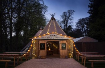 Hygge Tipi Returns to Yorkshire